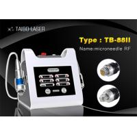 China Portable Radio Frequency Fractional Microneedle RF Wrinkle Removal Skin Tightening Machine wholesale