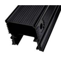 Buy cheap Black Anodized Aluminum Extrusions For Electronics / Electrical Cover / Electronic Enclosure product