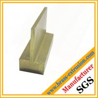 Buy cheap copper alloy extrusions section for building material C38500 CuZn39Pb3  CuZn39Pb2 CW612N C37700 product