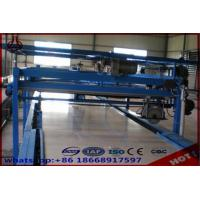Buy cheap Straw Particle Board Production Line / Laminating Making Machine Free Standing Type product