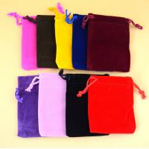Buy cheap Customized Logo Wholesale Eco-Friendly Velvet bags/Velvet pouch product
