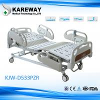High Low Adjustment Hospital Style Beds , Patient In Hospital Bed With Urine Hooks