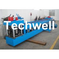 Buy cheap U Channel Roll Forming Machine for Making U Purlin Profile with Pre-cutting & Pre-punching product