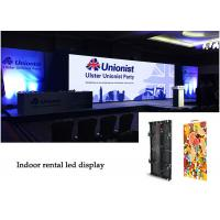 Quality SMD Indoor Rental LED Display, HD P3.91 RGB LED Panel with High Gray Scale for sale