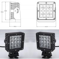 Buy cheap 80W Vehicle LED Driving Lights High Power IP68 Waterproof High Power LED Work Light product