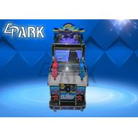 Buy cheap 2 Kids Shooting Aliens Arcade Game Machine Playground Equipment product