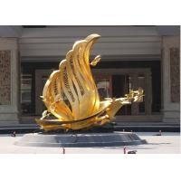 Buy cheap Contemporary Decoration Bronze Bird Sculpture / Statue With 250cm Height product