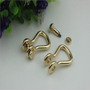 Buy cheap Customized high quality zinc alloy 10mm D shape metal strap buckle for handbag product