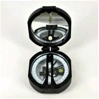 Quality Black Survey Instruments' Accessories Geology Metal Compass With Mirror for sale