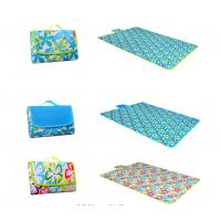 Buy cheap Personalized Family Picnic Blanket , PVC Backing Waterproof Beach Mat product