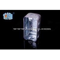 Buy cheap Pre - Galvanized Steel Electrical Boxes And Covers Switch Device Box With CSA product