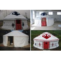 Buy cheap Sunscreen Polyester Canvas Yurt Style Tent Warm For Travel Accommodation product