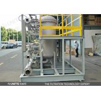 Buy cheap Automatic Back Flushing Filter for high precision gas solid,solid liquid separation product