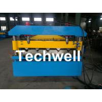 Buy cheap Iron Metal Roof Sheet Roll Forming Machine With Manual Or Hydraulic Uncoiler product