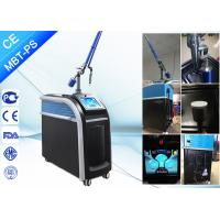 China 1064Nm 532nm 755nm Picosecond Laser Acne Treatment Tattoo Pigment Hair Removal wholesale