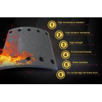Buy cheap Non Asbestos Truck Brake Linings 4515 4515B / 4515E Higer Link Test product