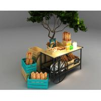 Buy cheap Car Design Bakery Display Racks / Bread Display Showcase Automobile Styling product