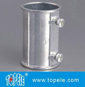 Buy cheap EMT Set Screw Coupling,  Electrical Conduit Fittings Zinc Coupling/Flexible Metal Conduit Fitting Low F product