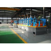 Buy cheap Carbon Steel Erw Tube Mill Line With Worm Gearing Adjustable product