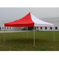 Buy cheap Custom Red / White Gazebo Folding Tent Aluminum Frame For Exhibition Advertising product