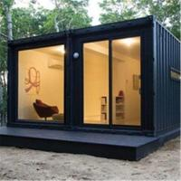 Buy cheap Dismountable Movable Prefab House 20ft 40ft Tiny Prefab Container House Ready Designed product