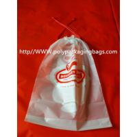 Buy cheap Moisture Resistant Drawstring Plastic Bags / Drawstring Storage Bags product