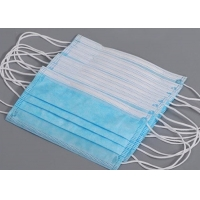 Buy cheap Soft Filter Dust 3 Ply Disposable Earloop Face Mask product