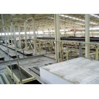Quality Concrete Slot Panel AAC Production Line Lime Panel Automatic for sale