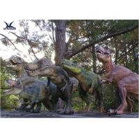 Attractive Robotic Life Size Dinosaur Statues With Dinosaur Alive Roaring Sound