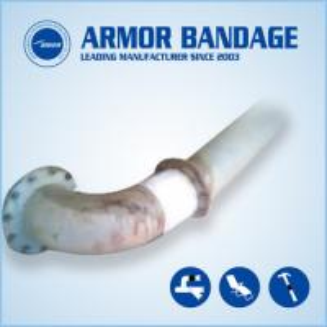 Buy cheap Pump Repair Bandage Moisture Cured Pipe Wraps Steel Pipe PVC Pipe Repair Bandage product