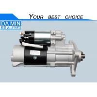 Buy cheap 1811003410 ISUZU Cxz Parts Starter For 6WF1 Without Mix Turck 8 KG Net Weight product