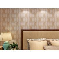 Buy cheap Bronzing Leaf Non Woven Wallpaper For Office Walls / Living Room , Water Against product