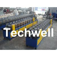 Buy cheap 0.4 - 1.0mm Thickness 0 - 15m/min Speed C Stud Roll Forming Machine For Light Steel Keel product