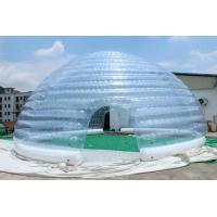 Buy cheap 2015 hot sell inflatable white dome tent product