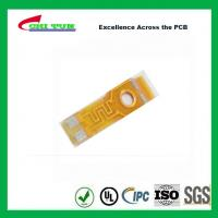 Buy cheap Single Layer PCB Flexible PCB for Motor of Phone Plating Gold 0.5oz Copper product