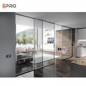 Buy cheap SUS304 rail glass large aluminium sliding doors Philippines Style product