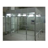 Buy cheap Aluminum Positive Pressure Soft Wall Clean Room Vertical Laminar Flow Booth product