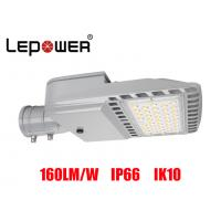 Buy cheap Bridgelux SMD 5050 LED Shoe Box Light 80W IP66 UL DLC Approved With Air Breather from wholesalers