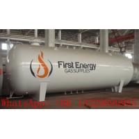 High quality 50M3 surface lpg gas storage tank for sale, best price 50m3 bulk cooking propane gas storage tank