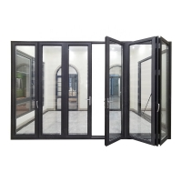 Buy cheap Anodized White Aluminium Bifold Doors , Two Side Open Door Hollow Glazed product