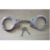 Quality Copper Thumb police Handcuff for Personal Security with 2 keys for sale