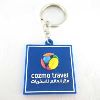 China Customized logo promotional cheap price colorful gift 2D 3D soft PVC rubber keychains doube side wholesale