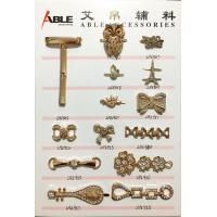 Fashion zinc alloy metal ornaments shoe accessories buckles for lady shoe hardware chain for sale
