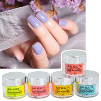 Buy cheap Custom Private Label Fast Drying Acrylic Dipping Powder Sets Glitter Dip Powder Nails Set Dip System product