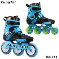 Buy cheap Mens Inline Skate Shoes Women 4 Wheels Roller Patins Adults Blades 2 in 1 from wholesalers