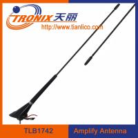 Buy cheap car electronic antenna with cable length 5.2m/ black color car amplifier antenna/ car am fm antenna TLB1742 product
