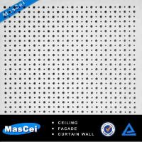 Quality Aluminum Ceiling Tiles and Aluminium Ceiling for Perforated Acoustic Panel for sale