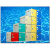 Buy cheap Yellow 4 Tier Lockers with On - Site Assembly For Swimming Pool product