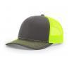 Buy cheap Custom 6 Panel Richardson Style 112 Shape Blank Snapback Hat,Plain Blank Black from wholesalers