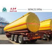 Buy cheap Safe Oil / Petroleum Diesel Tank Trailer With Pneumatic Control For Mine product